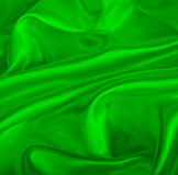 Silk as background. A green silk as background Stock Image