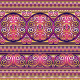 Silk asian seamless ornament Stock Photos