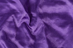 Silk background, texture of violet  shiny fabric Stock Photo