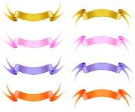 Silk band. Arkivbilder
