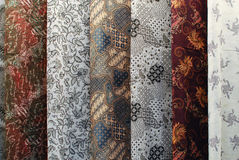 Silk and batik Royalty Free Stock Image