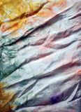Silk batik pastel colors backround Royalty Free Stock Photo