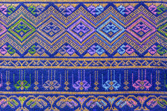 Silk batik pattern background Stock Images