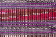 Silk batik pattern background Stock Photos