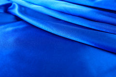 Silk blue background Royalty Free Stock Photo