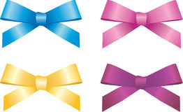 Silk bow Stock Photography