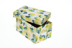 Silk box products. Handmade silk box, Thai products Stock Photos