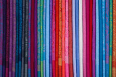 Silk chinese scarfs Royalty Free Stock Images