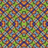 Silk colorful ribbons background, backdrop for scrapbook, top view. Seamless pattern kaleidoscope montage Royalty Free Stock Images