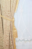 Silk curtain Royalty Free Stock Photography