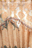 Silk curtain Stock Photo