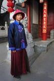 Silk dräkt för traditionella bergskammar Royaltyfri Foto