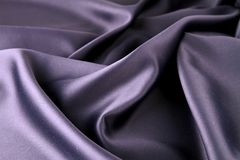 Silk drape. Close up on beautiful silk drape stock images