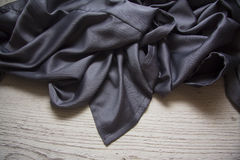 Silk drapery with watercolor Stock Photography