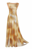 Silk dress Royalty Free Stock Photography