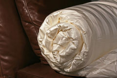 Silk Duvet Material Royalty Free Stock Photo