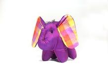 Silk elephant toy Royalty Free Stock Photo