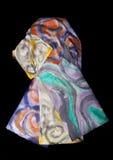 silk färgrika scarfs Royaltyfri Bild