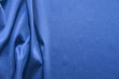 silk för blå mapp för bakgrund stor wavy abstrakt textur Royaltyfria Bilder