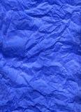 silk för blått papper Arkivbilder