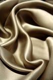 Silk fabric. Closeup of soft silk fabric Stock Photography