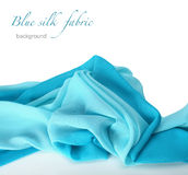 Silk fabric background Royalty Free Stock Photos
