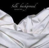 Silk fabric background Stock Photos