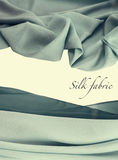 Silk fabric background Royalty Free Stock Photography