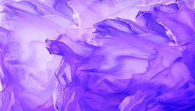 Silk Fabric Background, Abstract Waving Purple Flying Cloth royalty free stock photo