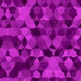 Silk Fabric Background, Abstract Waving ultra violet fractal triangles Flying Cloth. Silk Fabric Background, Abstract Waving ultra violet fractal triangles Royalty Free Stock Photography
