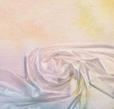 Silk fabric background. Paper textured. Stock Photography