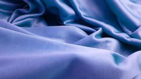 Silk fabric background slow motion stock video