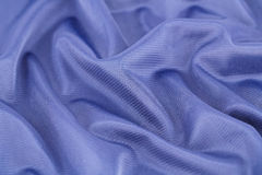 Silk fabric. Blue silk fabric for background Stock Images