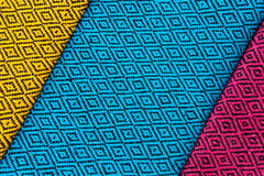 Silk fabric pattern Stock Images