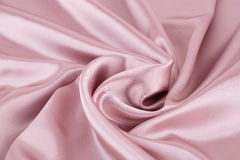 Silk fabric. Pink silk fabric for background Royalty Free Stock Photography