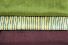 Silk fabrics Stock Photo