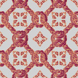 Silk fashion seamless pattern Stock Image