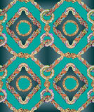 Silk fashion seamless pattern Royalty Free Stock Photography