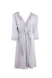 Silk female robe Royalty Free Stock Photo