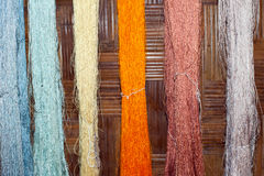 Silk fiber Royalty Free Stock Photos