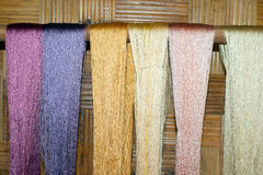 Silk fiber Stock Image