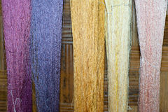 Silk fiber Stock Photography
