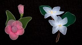 Silk flower Royalty Free Stock Photography