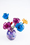 Silk flower arrangements Stock Photos