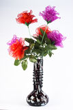 Silk flower arrangements Stock Photos