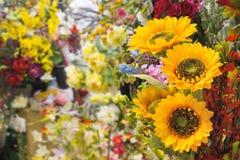 Silk Flower Shop Stock Images