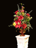 Silk flower with stand. Stock Images