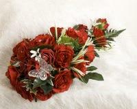 Silk flowers Royalty Free Stock Photos