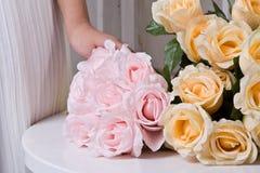 Silk Flowers Stock Image