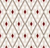 Silk geometrisches Muster Stockfotografie